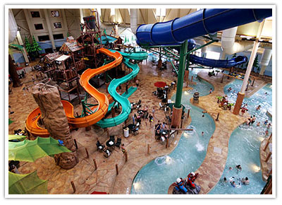 Great Wolf is a great vacation the whole family will enjoy! Our family enjoyed a stay at Great Wolf Lodge Water Park last winter, and I cannot say enough of good about this place. Even when it is super cold and snowy outdoors, Great Wolf Lodge is the perfect indoor water park as the temperature is always 84° in the water area.