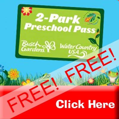 Busch Gardens Discount Tickets   2 Park Fun Card, FREE 2 Park Preschool  Pass, Waves Of Honor
