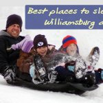 Best places to go sledding in Williamsburg, York County, WJCC and New Kent!