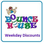 Bounce House Weekday Specials through Dec. 15, 2017
