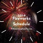 Where to Find Fireworks on July 4th in Williamsburg & Yorktown - July 3rd - 4th