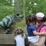 Virginia Living Museum Permanent Dinosaur Trail -  Bring the kids and explore Dinos in nature!