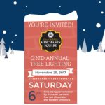 Start a Family Tradition – Come to Merchants Square for the 2nd Annual Tree Lighting on Nov 25th!
