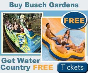 Buy A Busch Gardens Williamsburg Fun Card And Get Water Country USA For  FREE With Their 2 Park Fun Card Deal. But Hurry, This Offer Is Only  Available Online ...