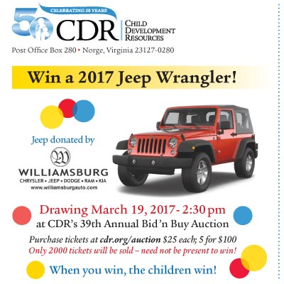 Want To Win A 2017 Jeep Wrangler?