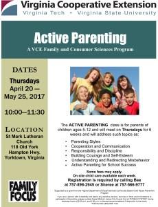 Active Parenting Class