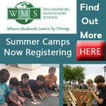 Williamsburg Montessori School Summer Camps  - Elementary Age & Pre-K Camps