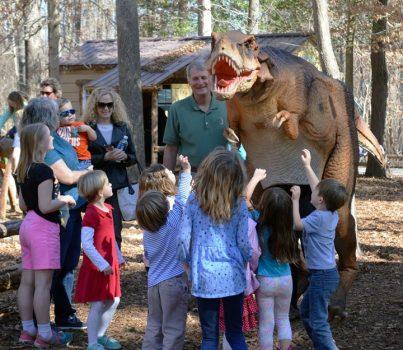 Dino on the Loose Virigina living museum
