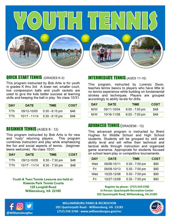 Youth-Tennis-williamsburg