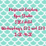 Mermaid Gardens Open Studio'