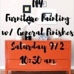 DIY Furniture Paitning w/ General Finishes'