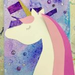 Magical Unicorn Mixed Media' artfully yours