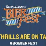 Busch Gardens Williamsburg Bier Fest Offers More Local Beers!