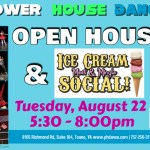 Power House Dance Open House & Ice Cream Social – August 22