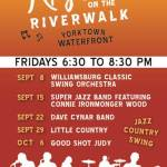 rhythm on the riverwalk yorktown
