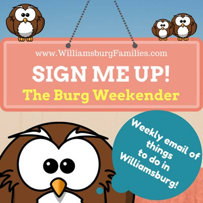 eNewsletter williamsburg families