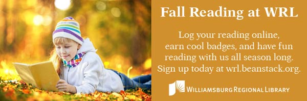 fall reading williamsburg