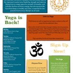 Yoga returns to the WISC