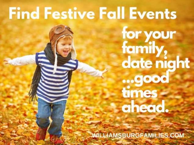 Fall Fun in Williamsburg
