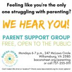 Parent Support Group (FREE)