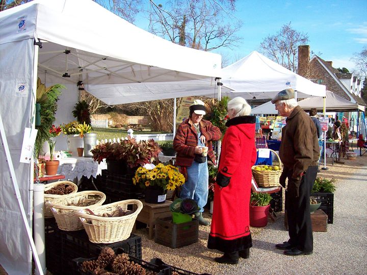 Yorktown Christmas market