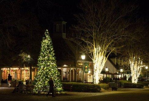 tree lighting merchant square