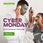 groupon cyber monday