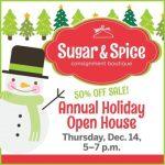 sugar spice open house