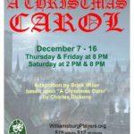 Christmas-Carol-Williamsburg-Players-Flyer