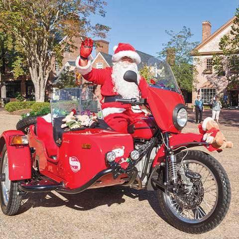 Sidecar Santa