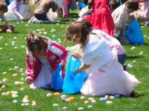 Lee Hall Easter Egg Hunt