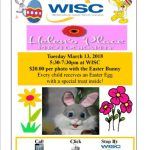 WISC Photo with the Easter Bunny – March 13