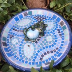 Make this adorable birdbath at Artfully Yours!