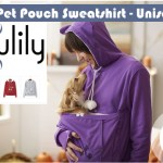 Look what we found:  Pet Pouch Sweatshirt – for the ultimate pet lover this Valentine's Day!  On Sale!