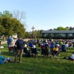 Easter Sunrise Service on Jamestown Island'
