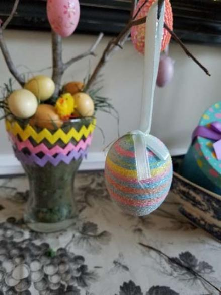 How To Create Your Own Easter Egg Tree With Your Kids