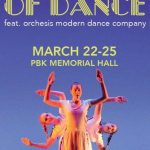 Win a 4 pack of tickets to see An Evening of Dance at William & Mary Theatre