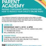 Parent Academy: Raising CyberSmart Middle Schoolers: How to Reduce Your Child's Online Risks