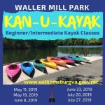 KAN-U-KAYAK - Beginner/Intermediate Kayak Class are offered at Waller Mill Park