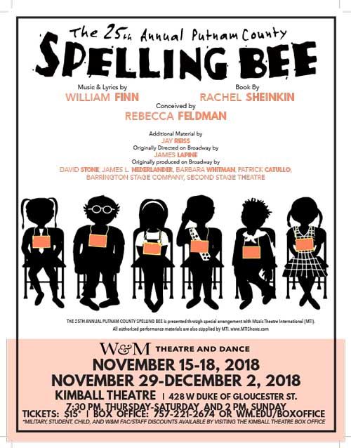 Win tickets to see 'The 25th Annual Putnam County Spelling Bee'