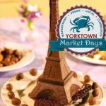 Yorktown Market Days Sister Cities French Market Saturday April 21st 10 a.m. – 3 p.m. – Learn more: