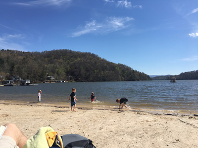 lake lure beach