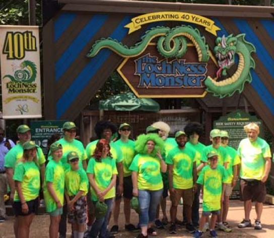 Busch Gardens Ace Riders