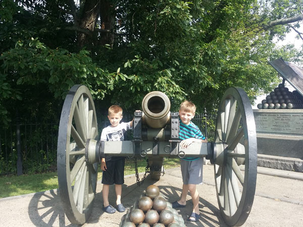 Gettysburg-with-kids-on williamsburg-families