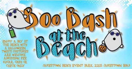Boo Bash Jamestown Beach