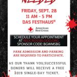 Give Blood Get a FREE Busch Gardens Williamsburg Admission - Details: