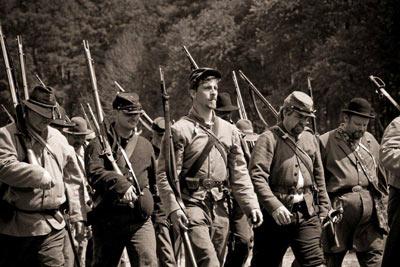 Civil War Reenactment: September 22-23, 2018 - Experience