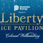 Liberty's Ice Pavilion Outdoor Ice Skating Rink in Merchants Square Williamsburg Opens Nov. 16