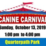 Canine Carnival -  Come Pawty in the Park - October 13 at Waller Mill Park