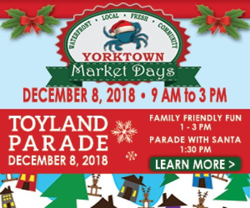 toyland parade and market